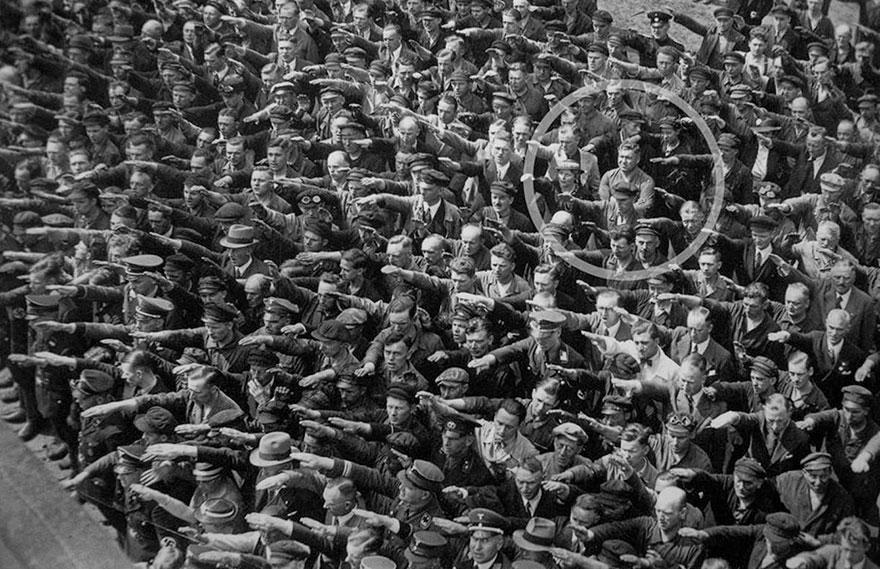 photos historiques salut des nazis