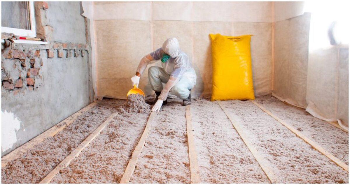 isolation de toiture en vrac